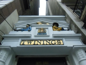 The Front of Twinings, Strand