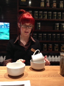 Sensitive souls will happily follow Georgina's lead through the world of tea