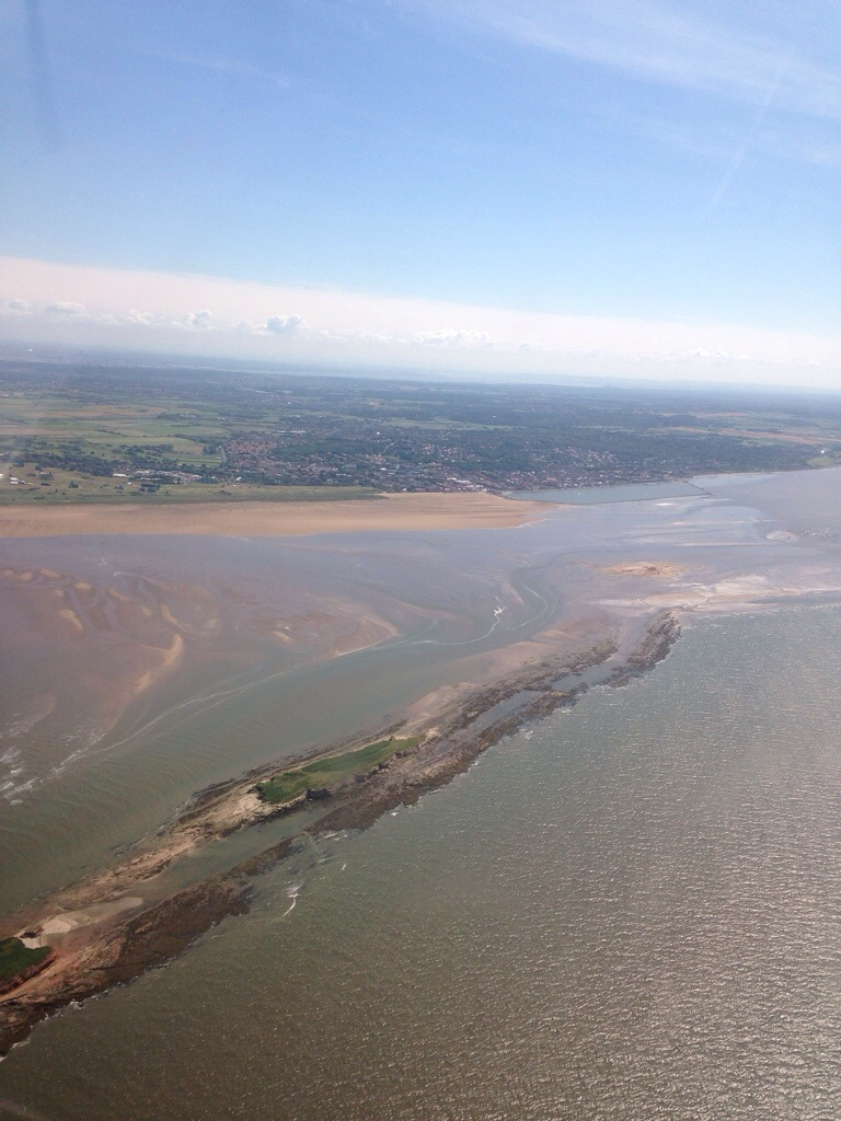 The River Dee and West Kirby